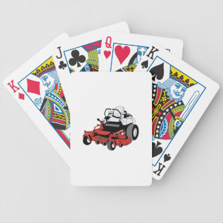 Lawnmower Bicycle Playing Cards