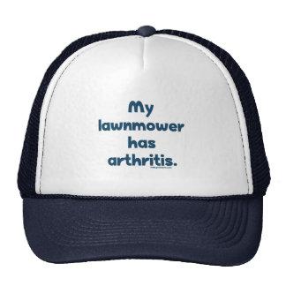 Lawnmower Has Arthritis Trucker Hat