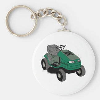 Lawnmower Keychain