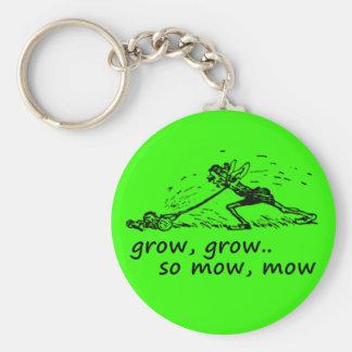 Lawnmower Man Keychain