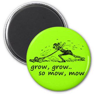 Lawnmower Man Magnet