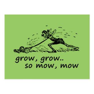 Lawnmower Man Postcard