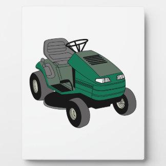 Lawnmower Plaque