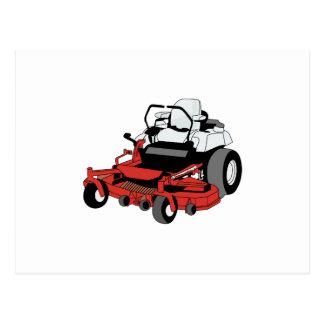 Lawnmower Postcard