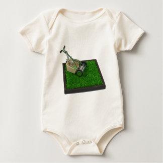 LawnmowerOnTheGrass100711 Baby Bodysuit