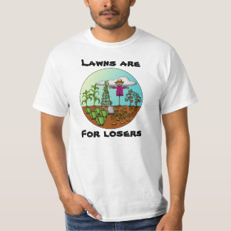 Lawns Are For Losers, light shirt