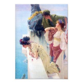 Lawrence Alma Tadema A Coign of Vantage Custom Invites