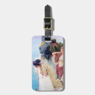 Lawrence Alma Tadema A Coign of Vantage Bag Tags