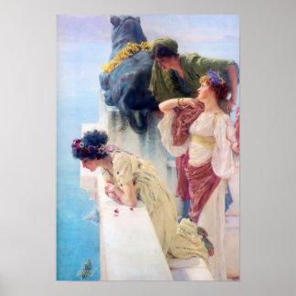 Lawrence Alma Tadema A Coign of Vantage Poster