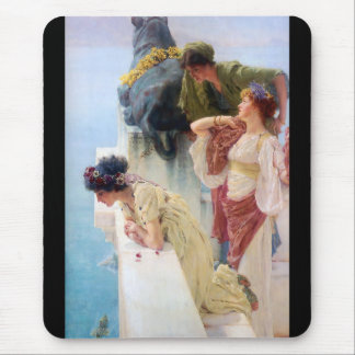 Lawrence Alma-Tadema and A coign of vantage Mouse Pad