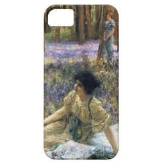 Lawrence Alma Tadema Bluebells iPhone SE/5/5s Case