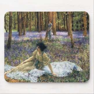 Lawrence Alma Tadema Bluebells Mouse Pad