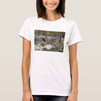 Lawrence Alma Tadema Bluebells T-shirt