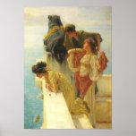 Lawrence Alma-Tadema - buena posición ventajosa Impresiones