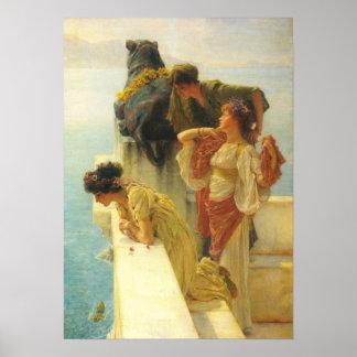 Lawrence Alma-Tadema - Good vantage point Poster