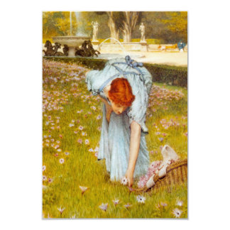 Lawrence Alma Tadema Spring in the Garden Personalized Invitations