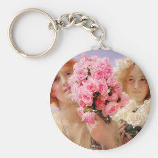 Lawrence Alma Tadema Summer Offering Key Chain