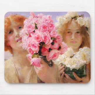 Lawrence Alma Tadema Summer Offering Mouse Pad