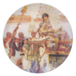 Lawrence Alma Tadema The Finding of Moses Dinner Plate