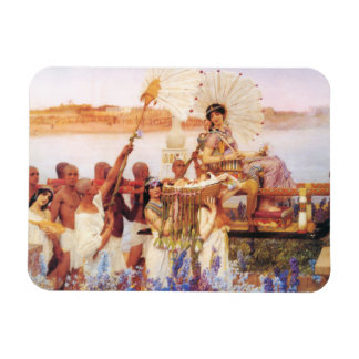 Lawrence Alma Tadema The Finding of Moses Vinyl Magnet