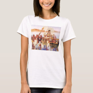 Lawrence Alma Tadema The Finding of Moses T-Shirt