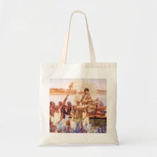 Lawrence Alma Tadema The Finding of Moses Tote Bag