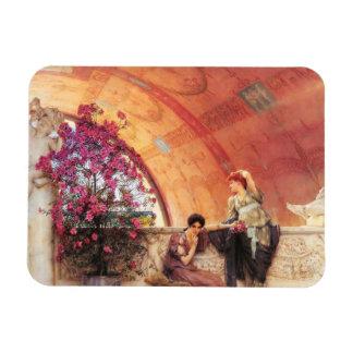 Lawrence Alma Tadema Unconscious Rivals Magnet