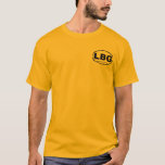 Lawrence Brewers Guild Black Oval Pocket-Style T-Shirt