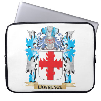Lawrence Coat of Arms - Family Crest Computer Sleeves