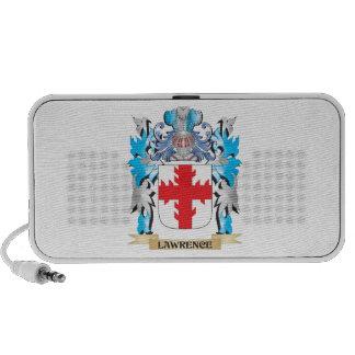 Lawrence Coat of Arms - Family Crest Mini Speaker