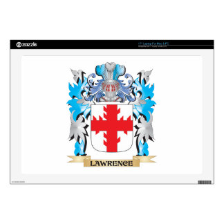 """Lawrence Coat of Arms - Family Crest Skins For 17"""" Laptops"""