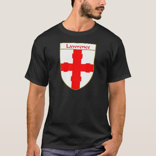 Lawrence Coat of Arms/Family Crest T-Shirt