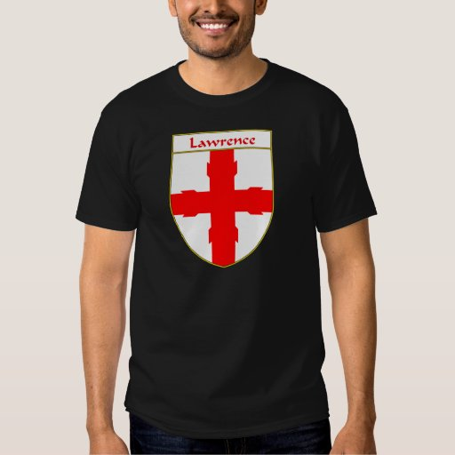 Lawrence Coat of Arms/Family Crest T Shirts