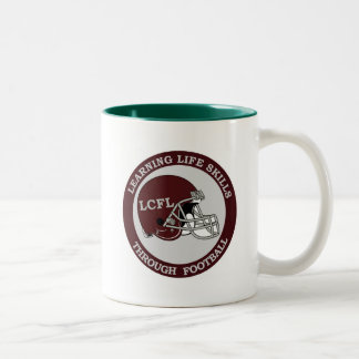 Lawrence Community Football League Two-Tone Coffee Mug