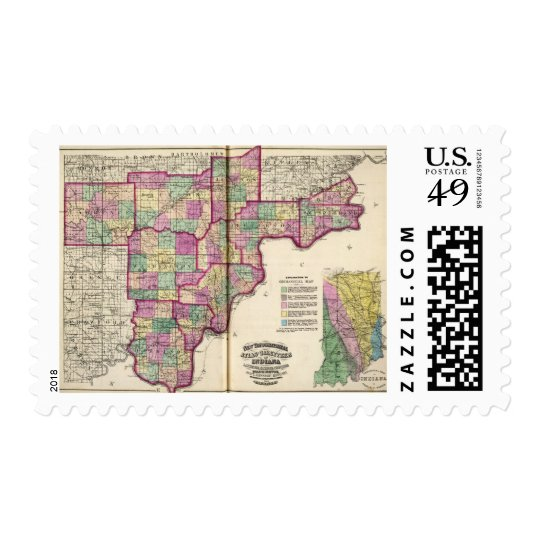 Lawrence County and Jackson County Postage