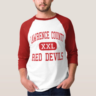 Lawrence County - Red Devils - High - Moulton T-Shirt