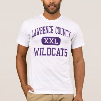 Lawrence County - Wildcats - High - Lawrenceburg T-Shirt