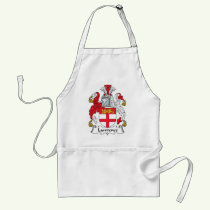 Lawrence Family Crest Apron
