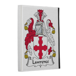 Lawrence Family Crest iPad Cases