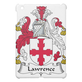 Lawrence Family Crest iPad Mini Cover