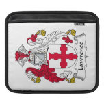 Lawrence Family Crest iPad Sleeves