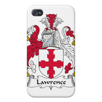 Lawrence Family Crest iPhone 4 Cover