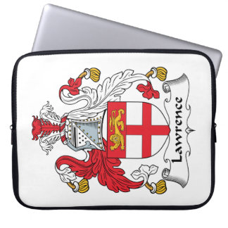 Lawrence Family Crest Laptop Sleeve