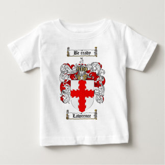 LAWRENCE FAMILY CREST -  LAWRENCE COAT OF ARMS BABY T-Shirt