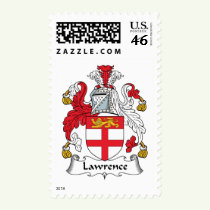 Lawrence Family Crest Stamps