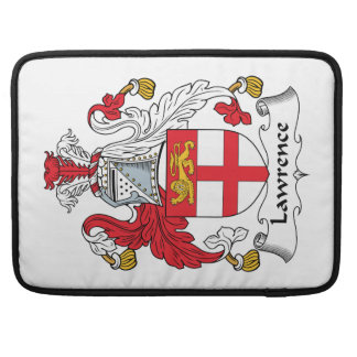 Lawrence Family Crest Sleeve For MacBooks