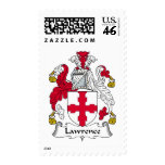 Lawrence Family Crest Stamp