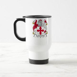 Lawrence Family Crest Travel Mug