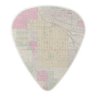 Lawrence, Kansas Acetal Guitar Pick
