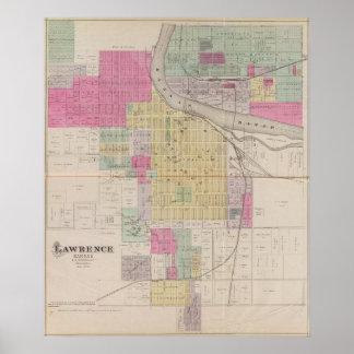 Lawrence, Kansas Print